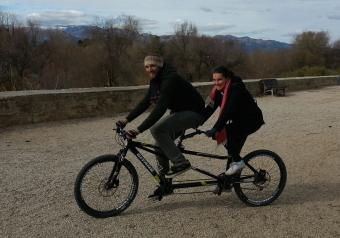 Tandem bike