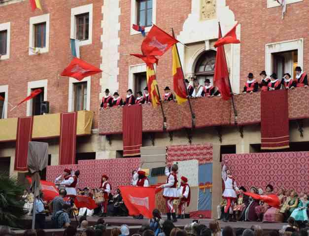 Tortosa flags